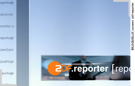 Bild: SCREENSHOT ZDFreporter